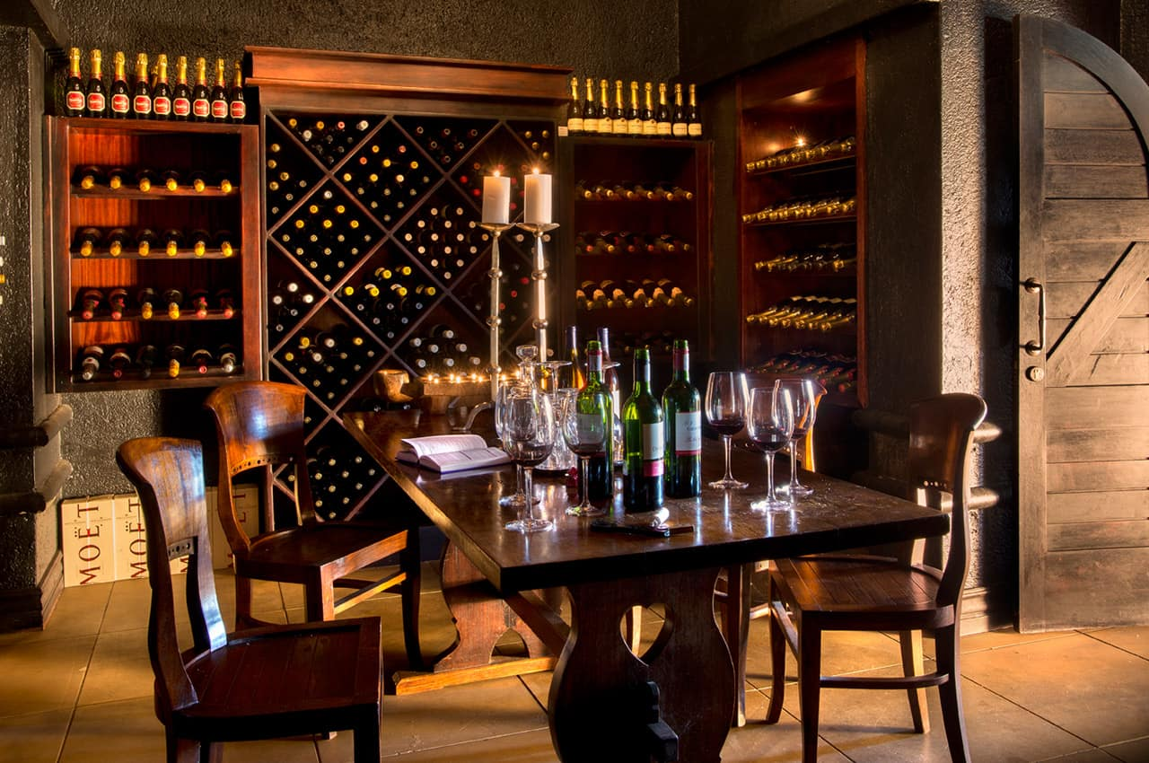 Adega de vinhos, Narina Lodge