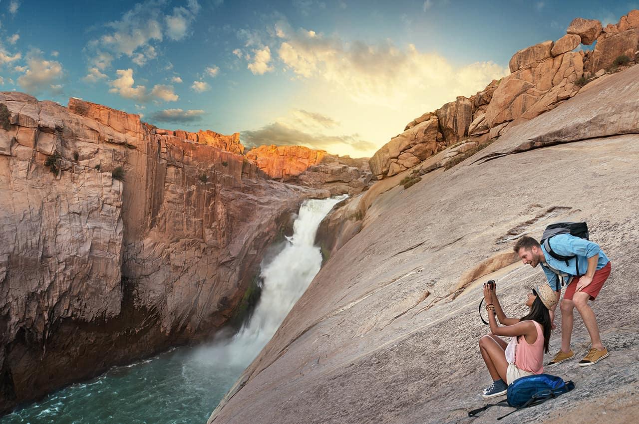 Cachoeira Augrabies - África do Sul