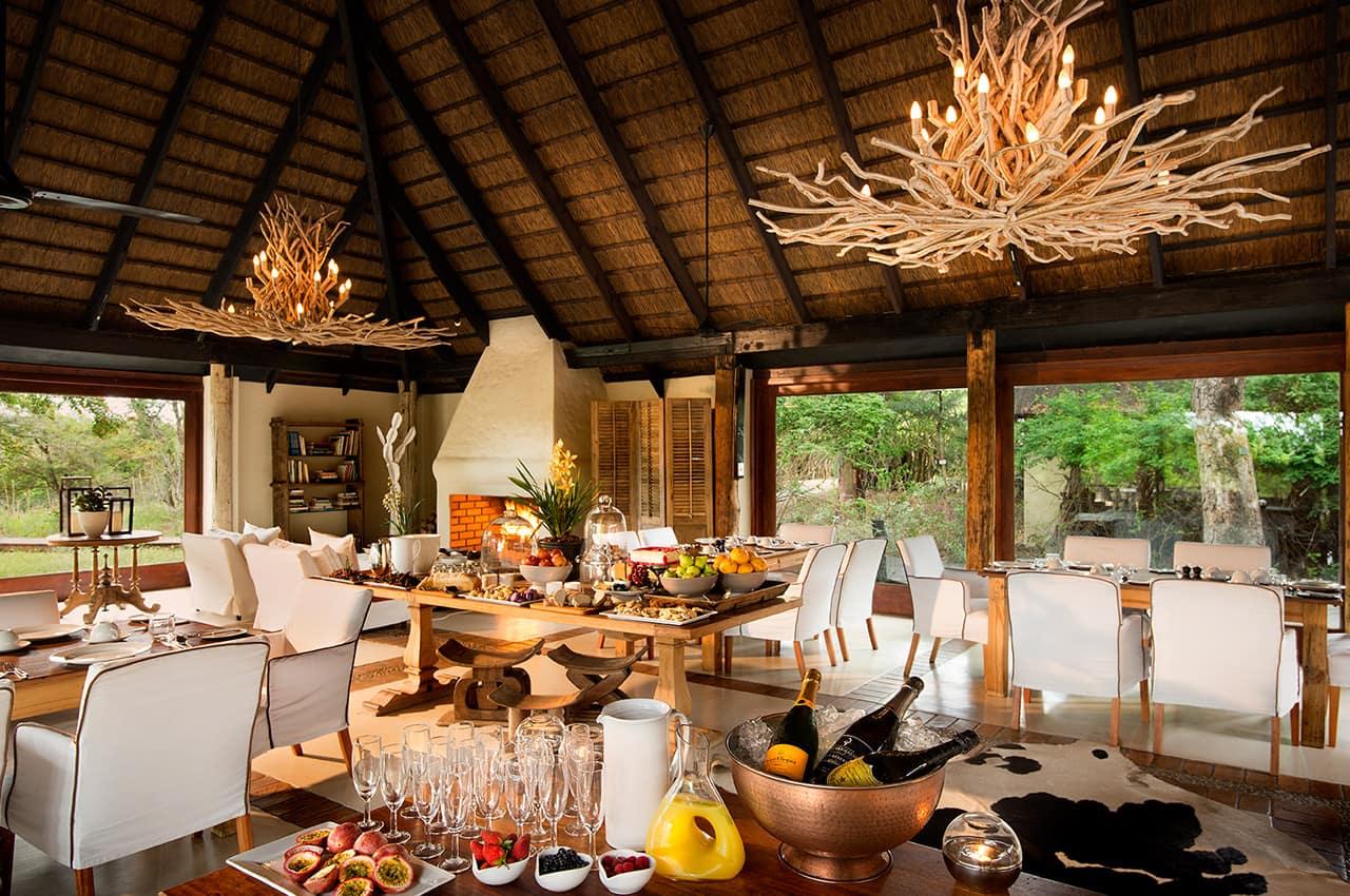 Café da manhã, River Lodge