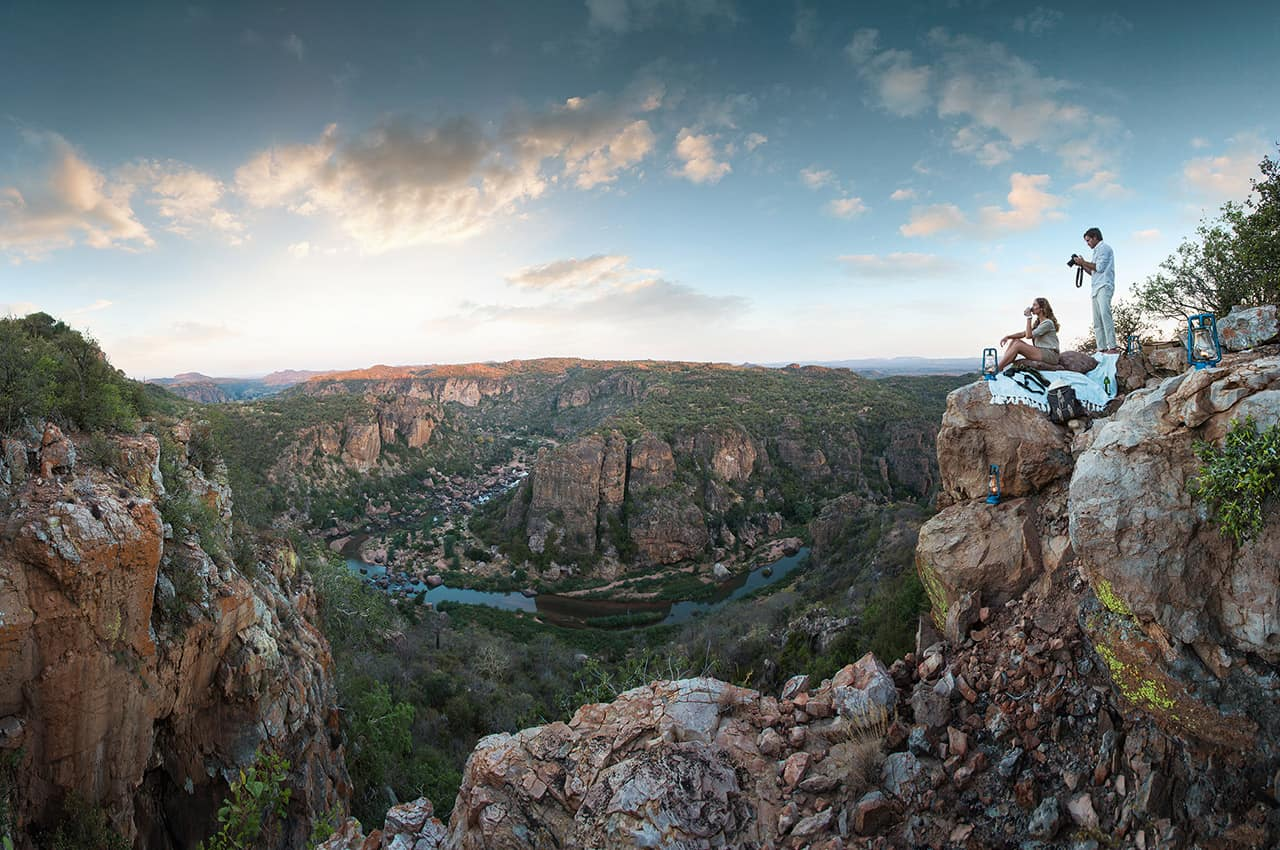 Cânion na África do Sul
