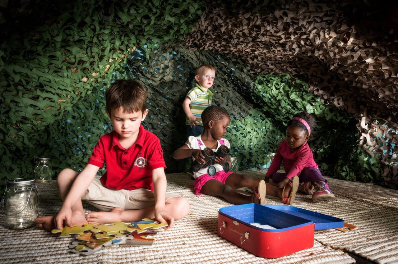 Programa para criança no Impodimo Game Lodge