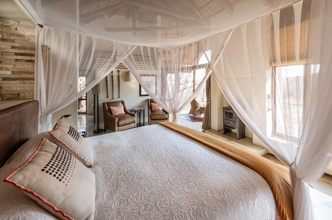 Deluxe suite room no Impodimo Game Lodge