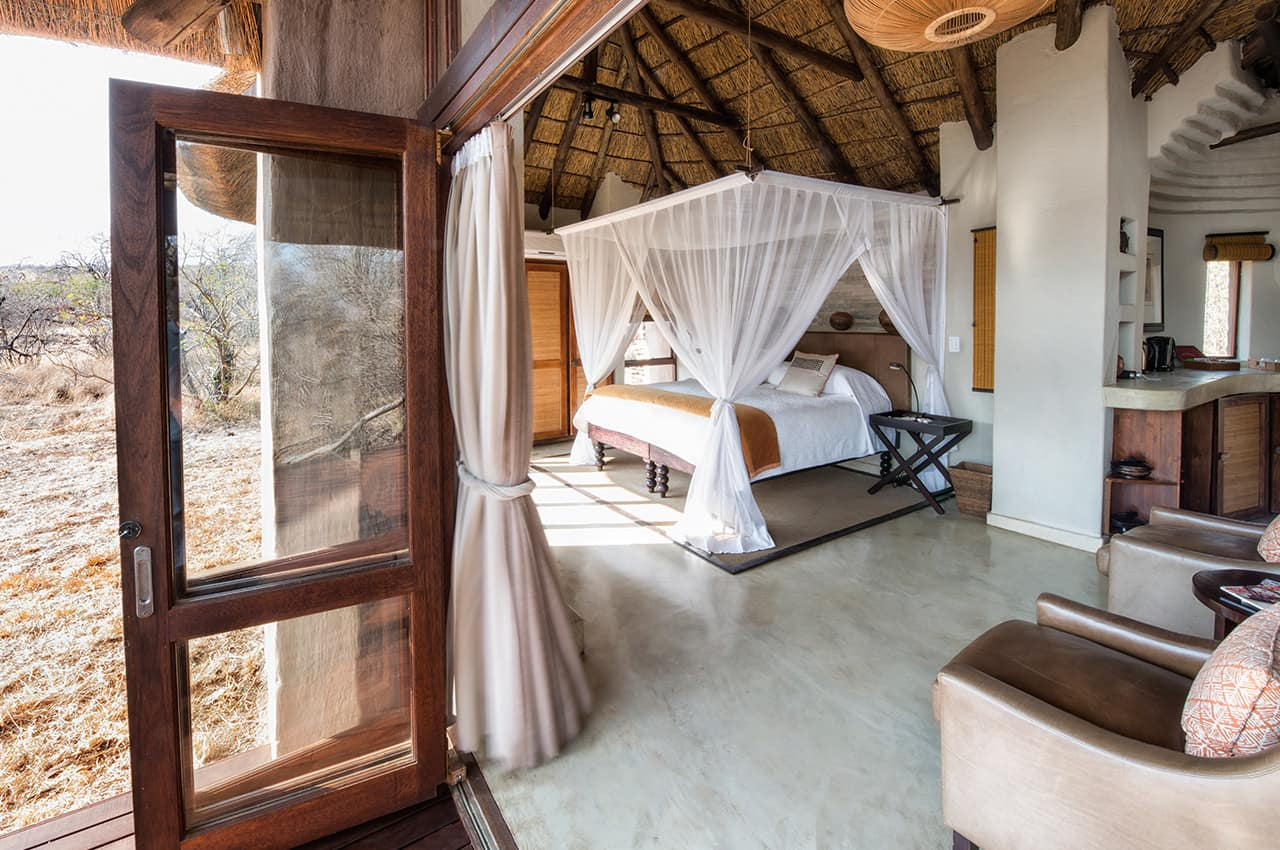 Deluxe Suite room no Impodimo Lodge