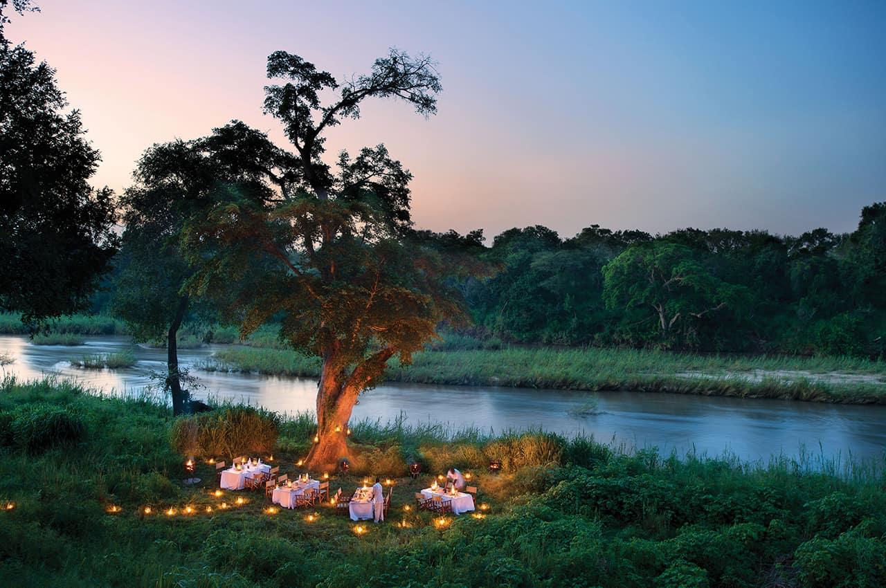 Jantar no rio, Narina Lodge