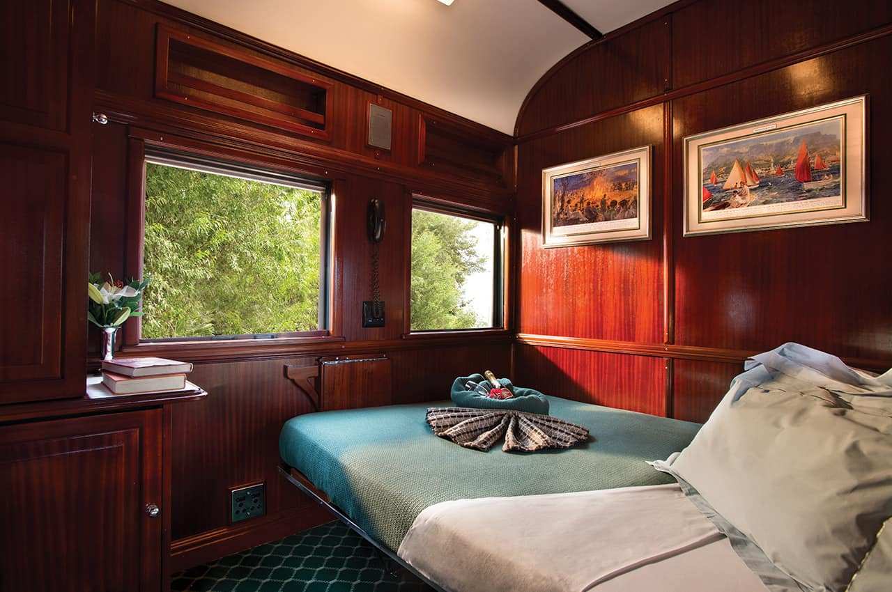 Pullman Suite no Rovos Rail