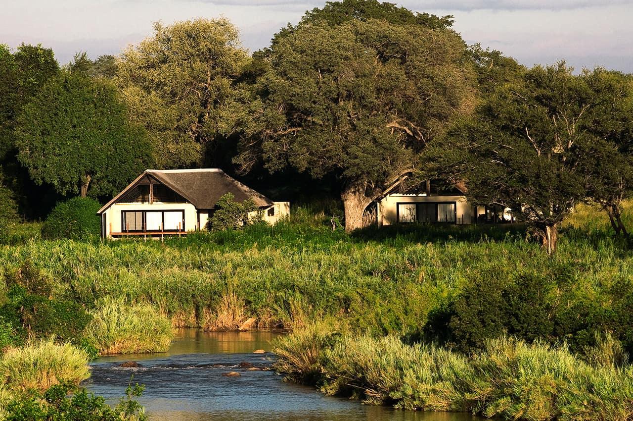 River Lodge, no rio Sabie