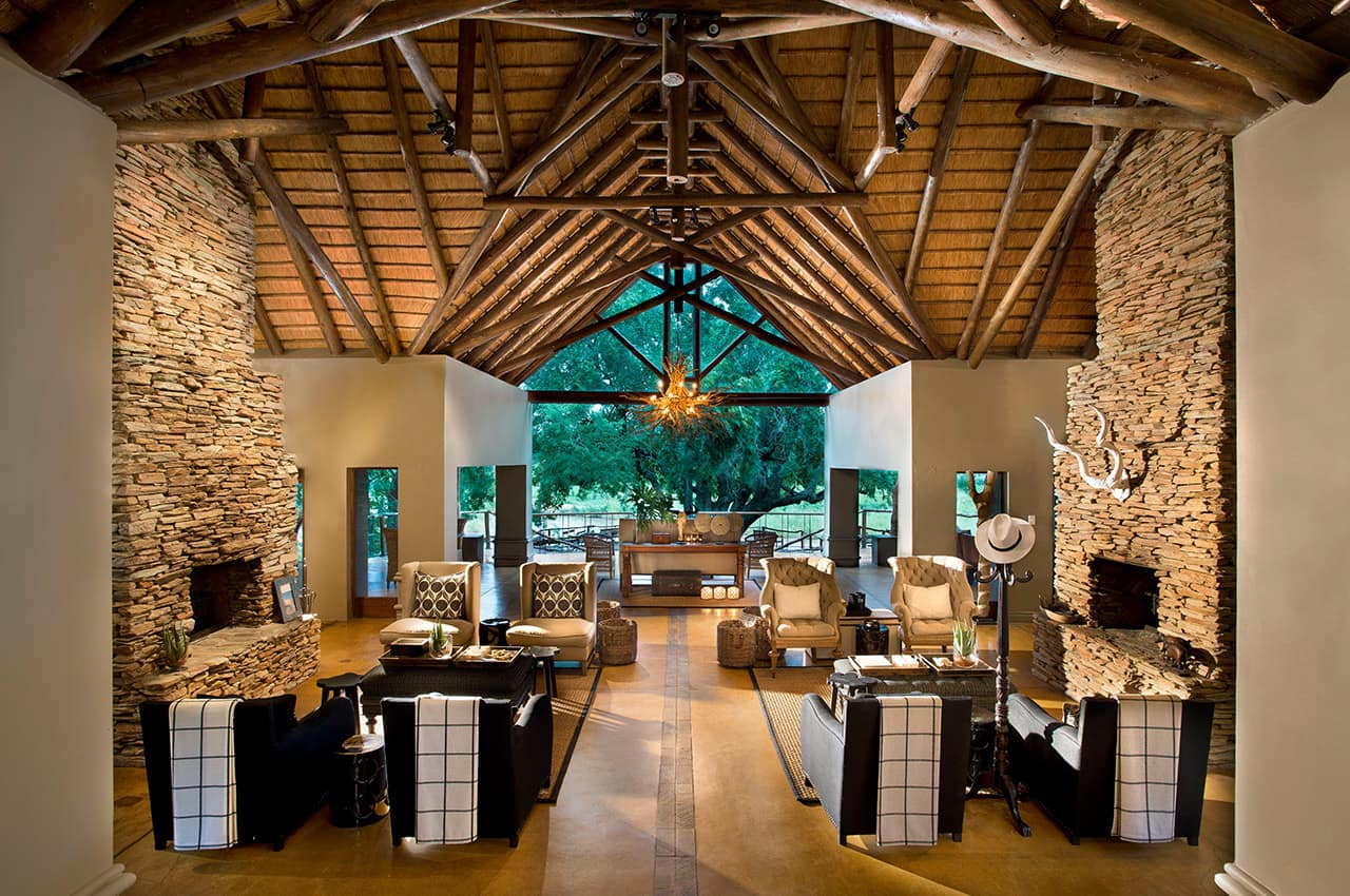 Sala de estar, Tinga Lodge