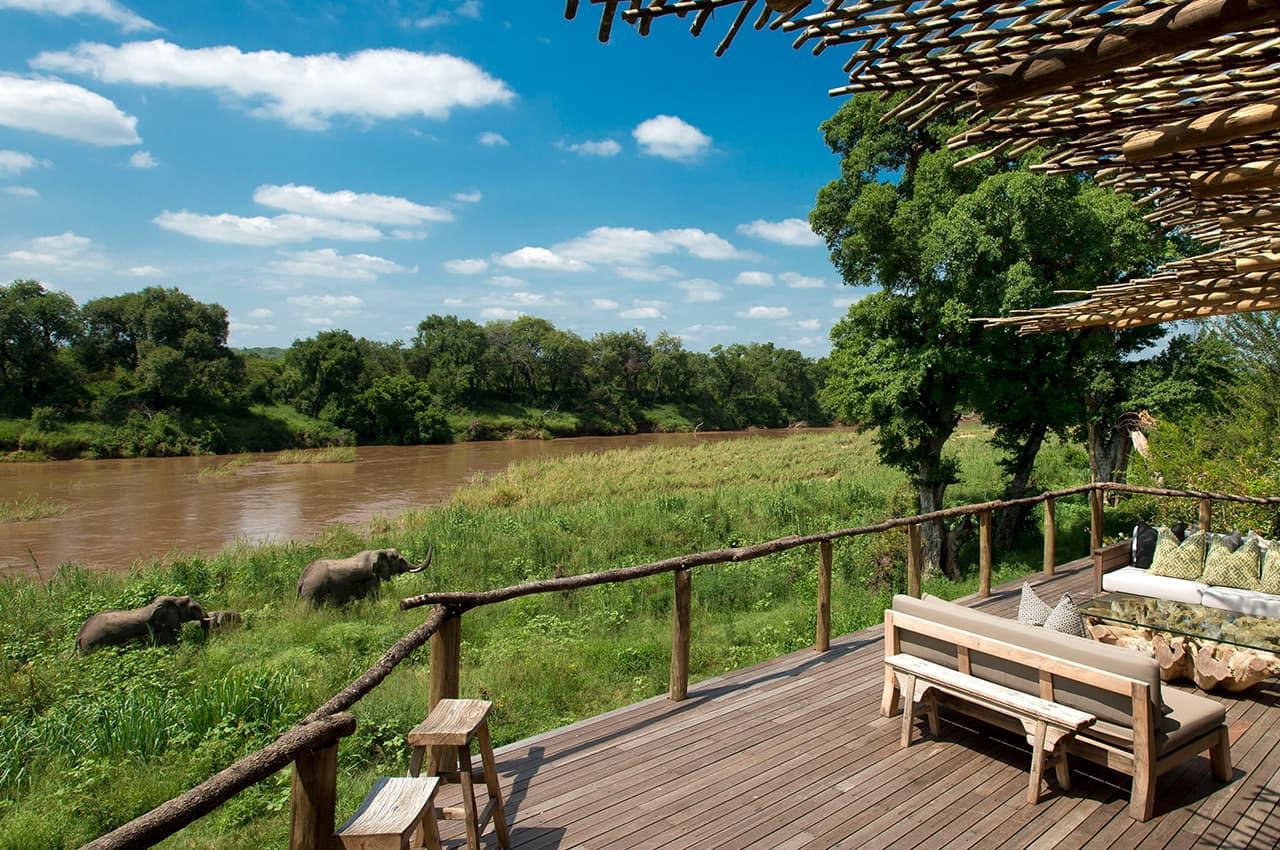 Vista para Rio Sabie, Narina Lodge