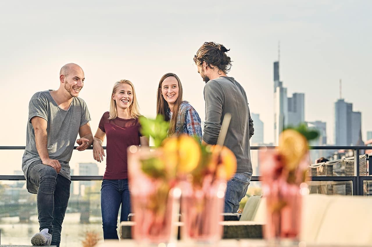 Amigos rooftop frankfurt
