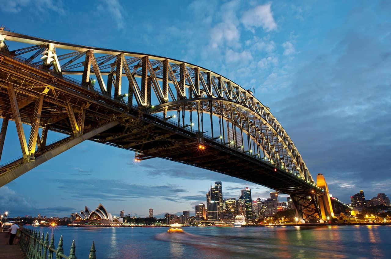 Harbour Bridge, Sydney, Austrália