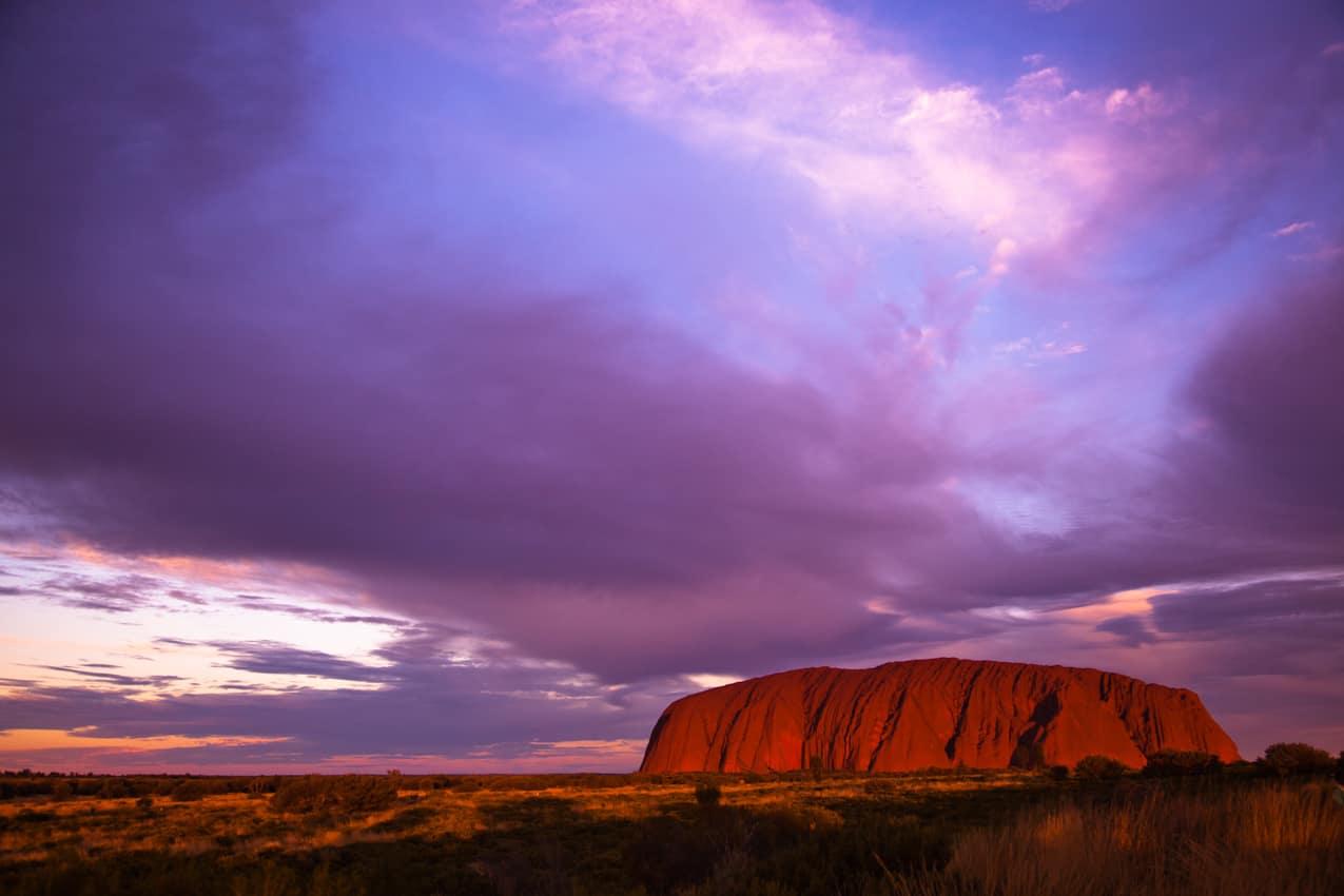Monolito Ayers Rock Uluru Kata-Tjuta, Austrália