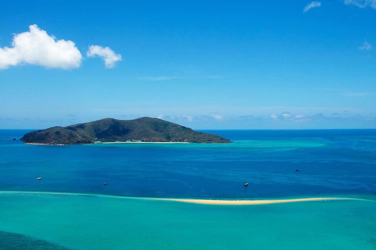 One&Only Hayman Island, vista aérea