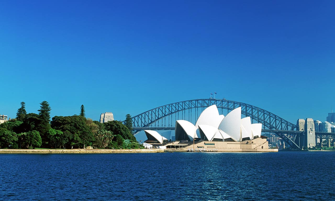 Opera House e Sydney Harbour Bridge
