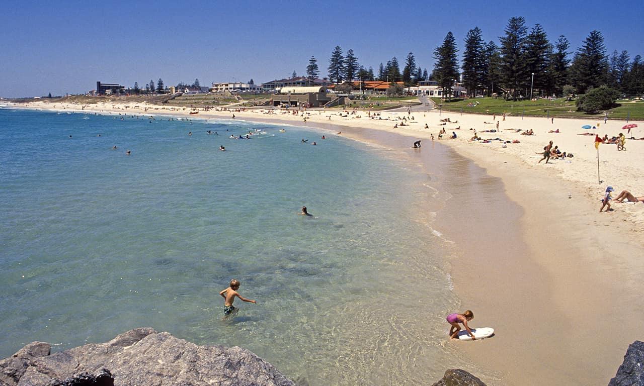 Praia de Cottesloe, Perth