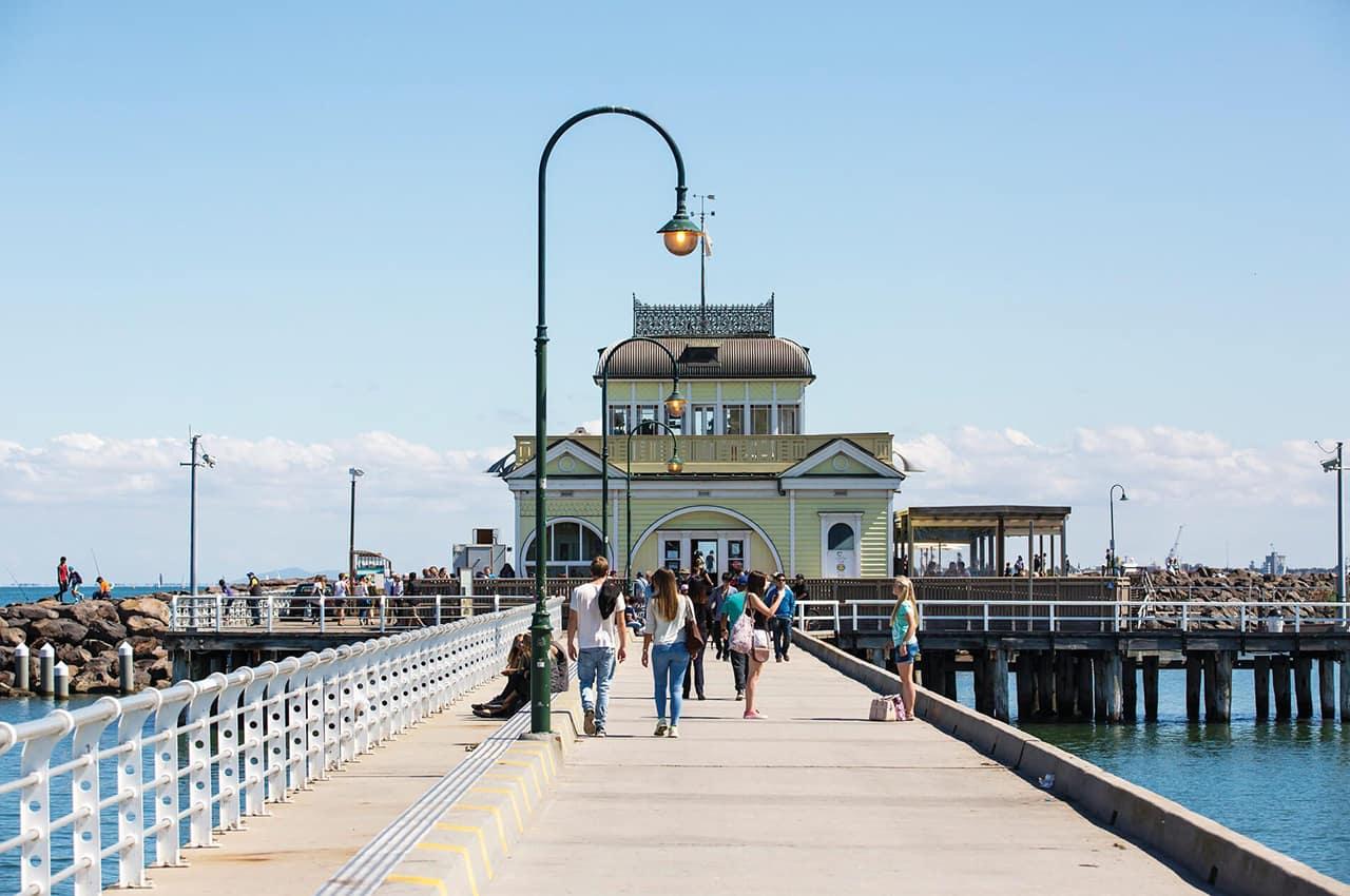 St Kilda Pier, Melbourne, Australia
