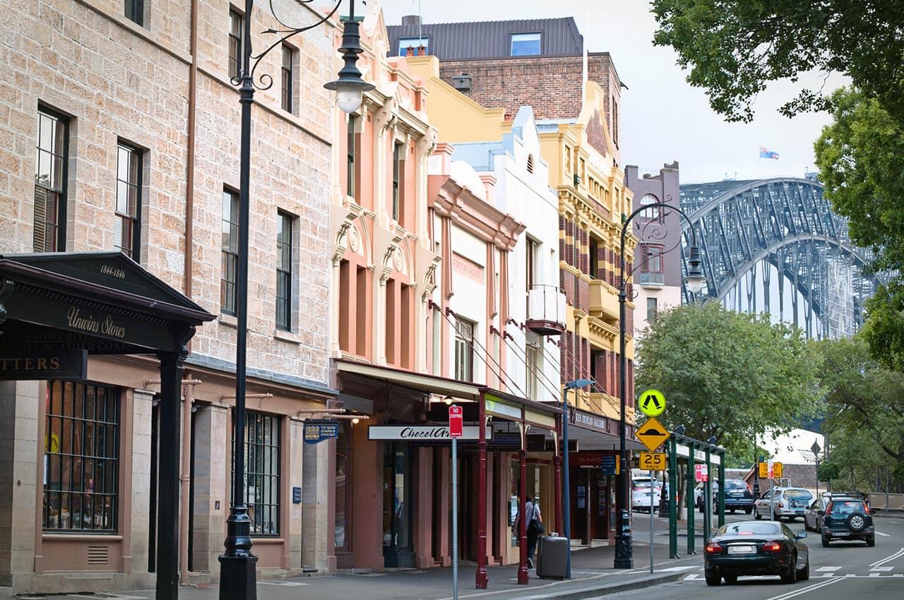 The Rocks, Sydney, Austrália