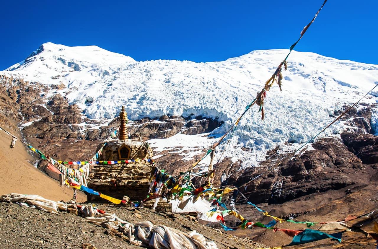 Bandeiras orações Kanola, Tibete