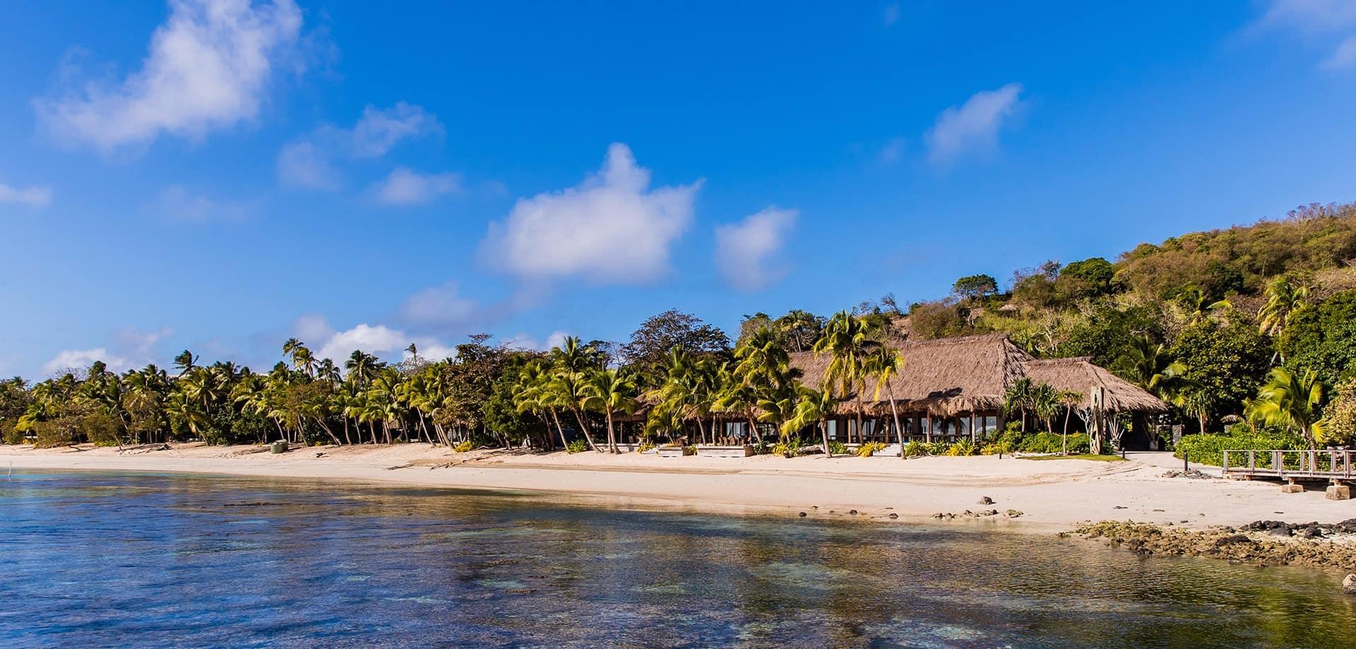 Banner fiji island