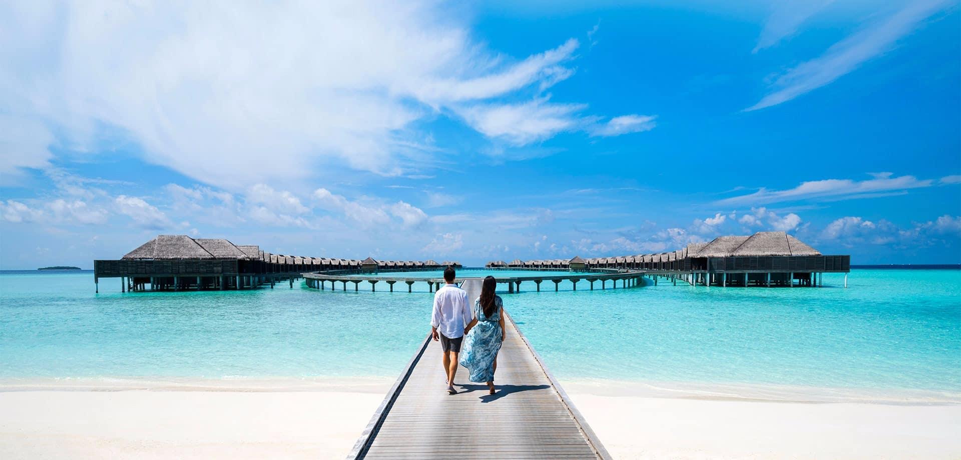 Maldivas kihavah casal
