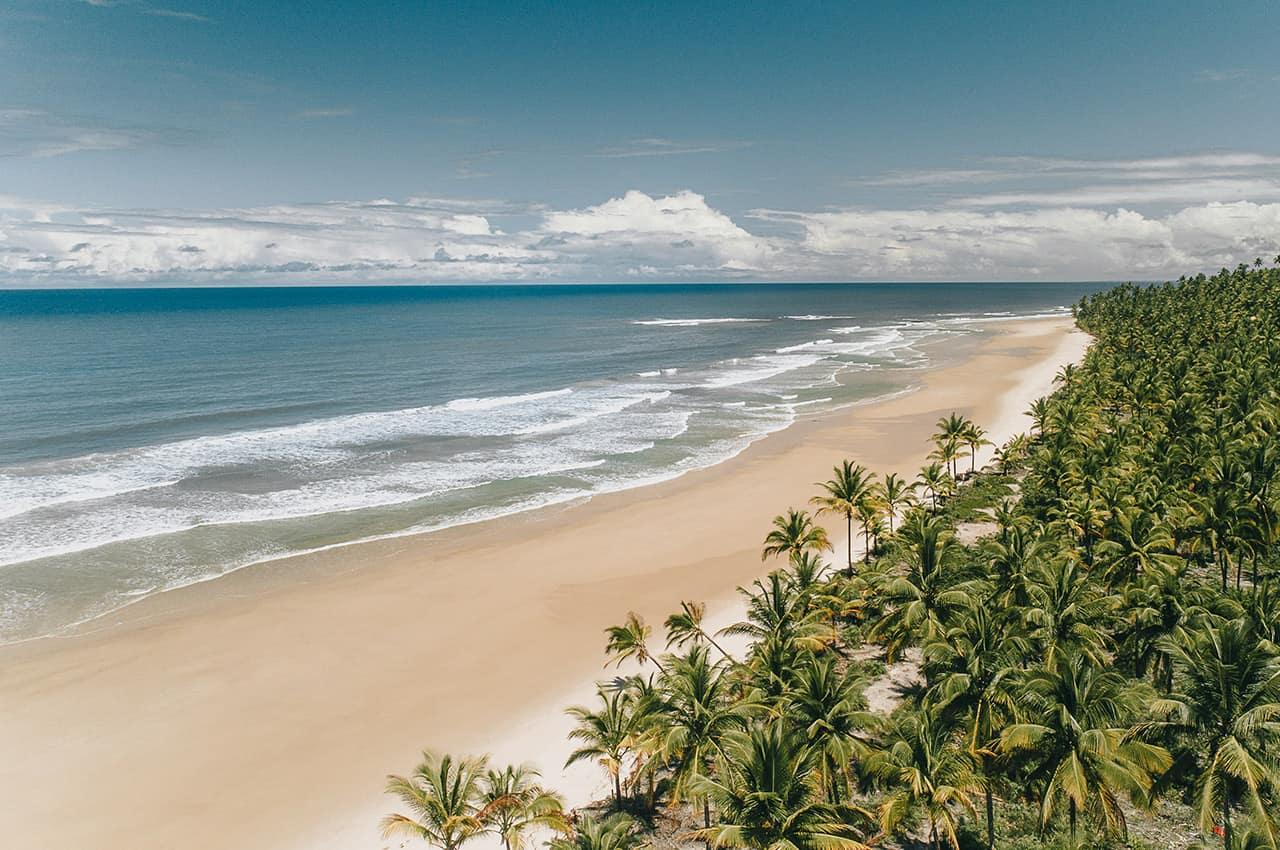 Txai itacare vista da praia