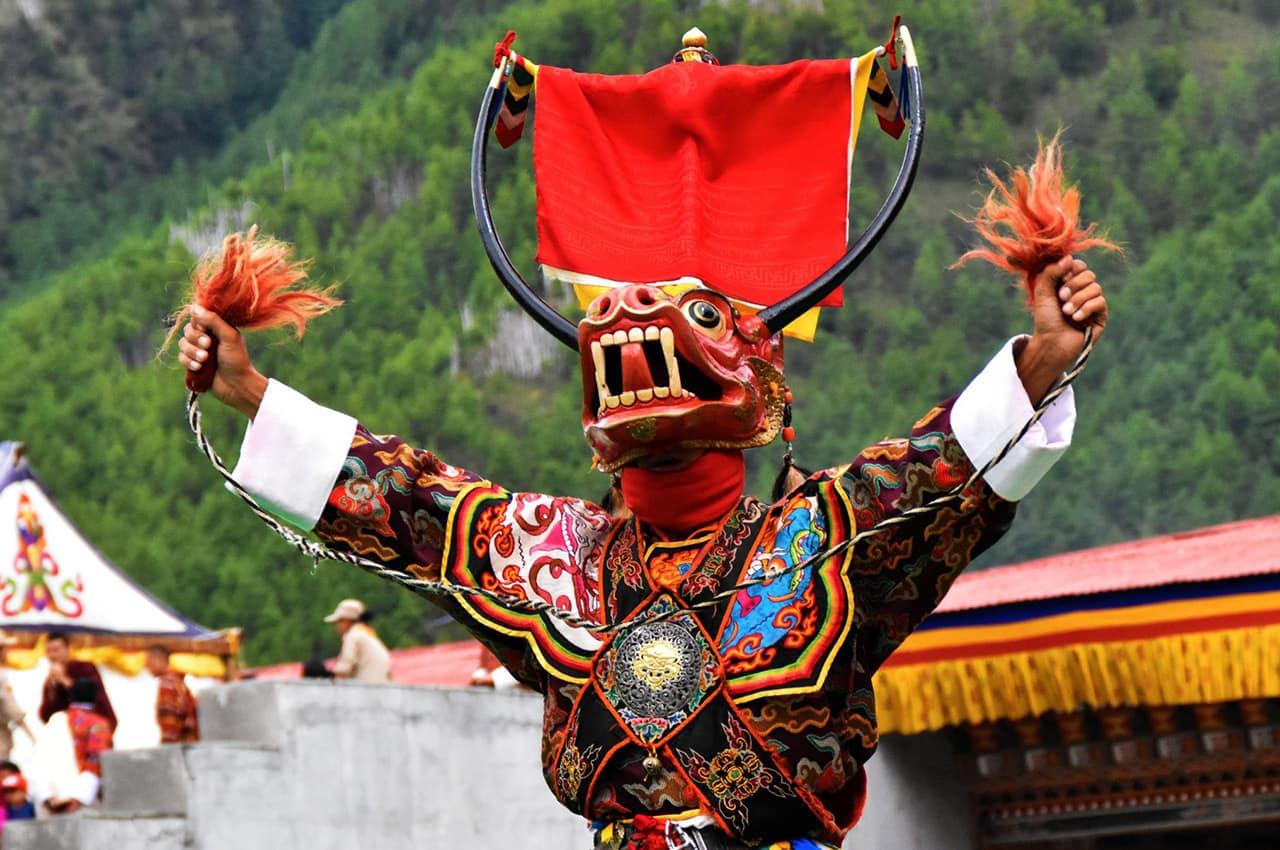 Festival Thimphu Tshechu