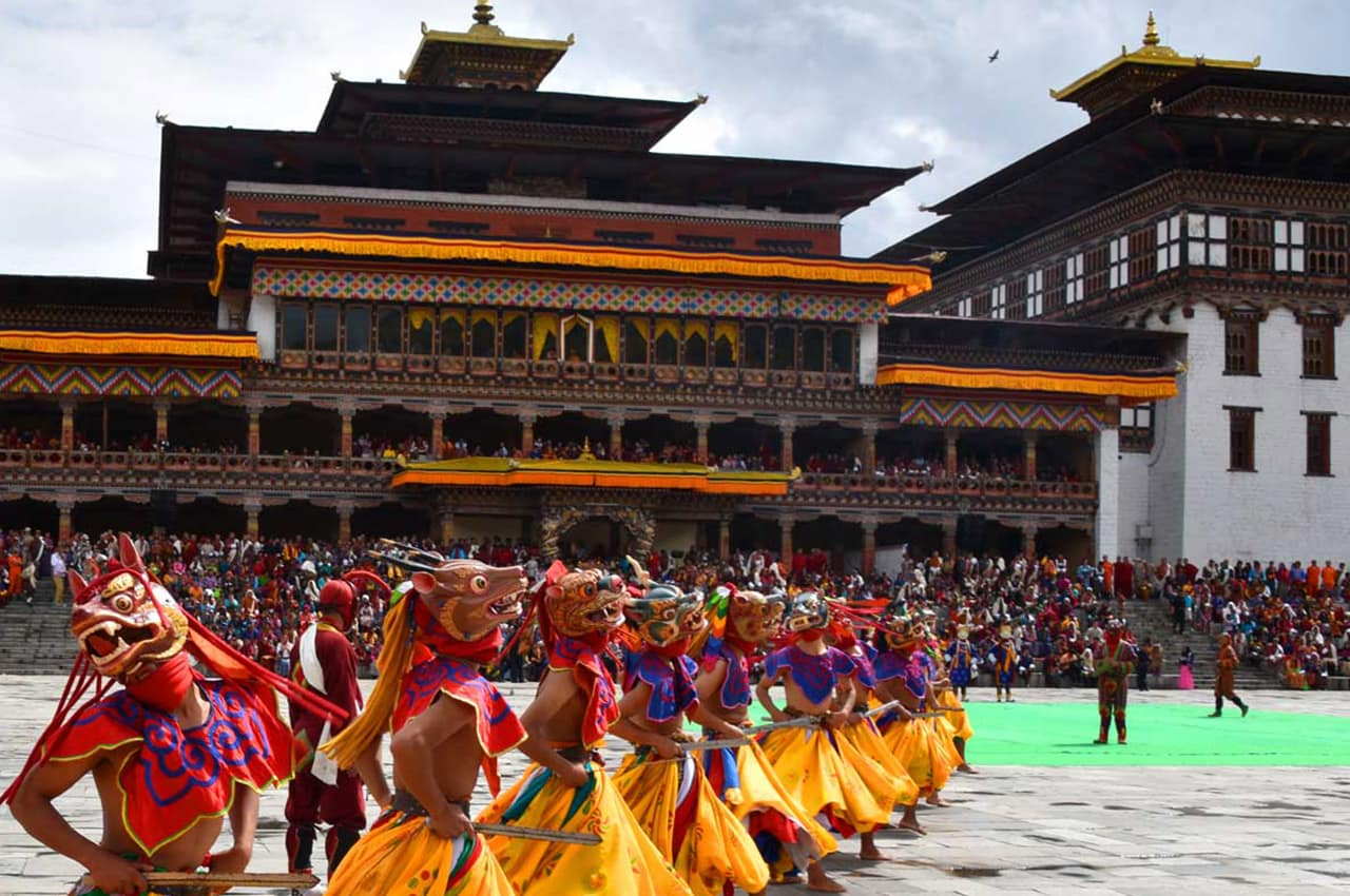 Thimphu Tshechu, Butão