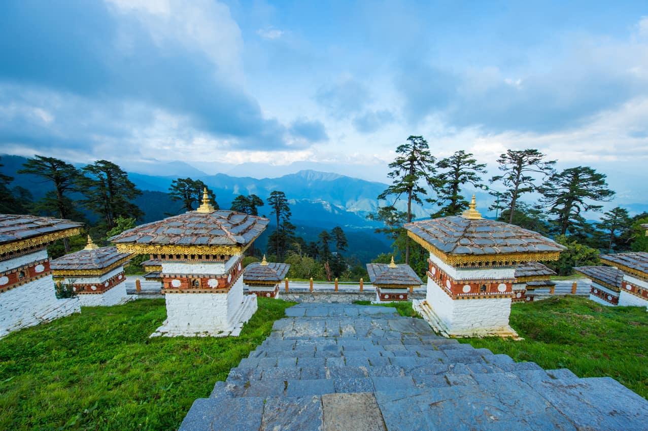 Viagem Butão Dochula Pass