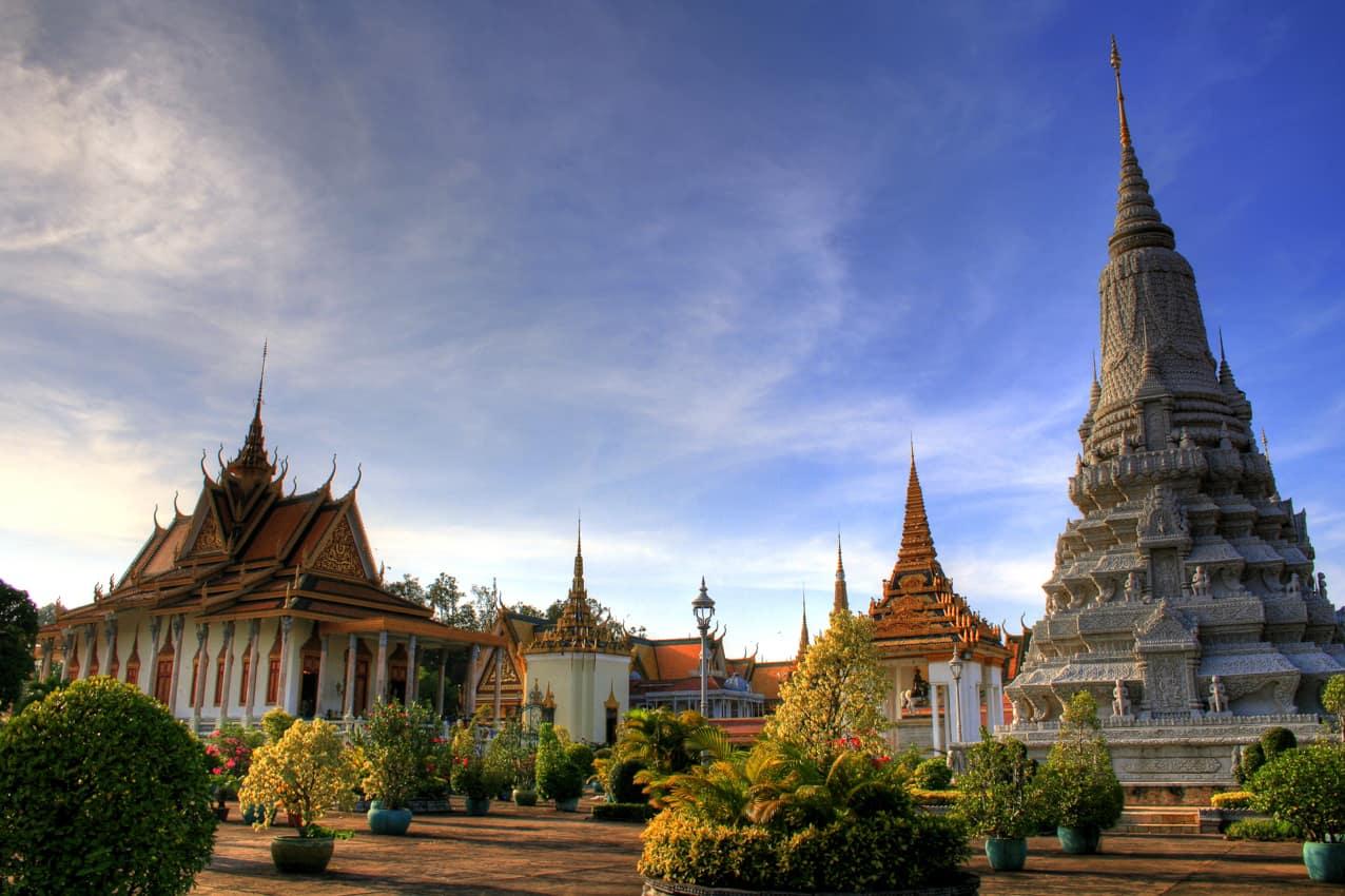 Atrativo turístico Camboja Royal Palace Phnom Penh