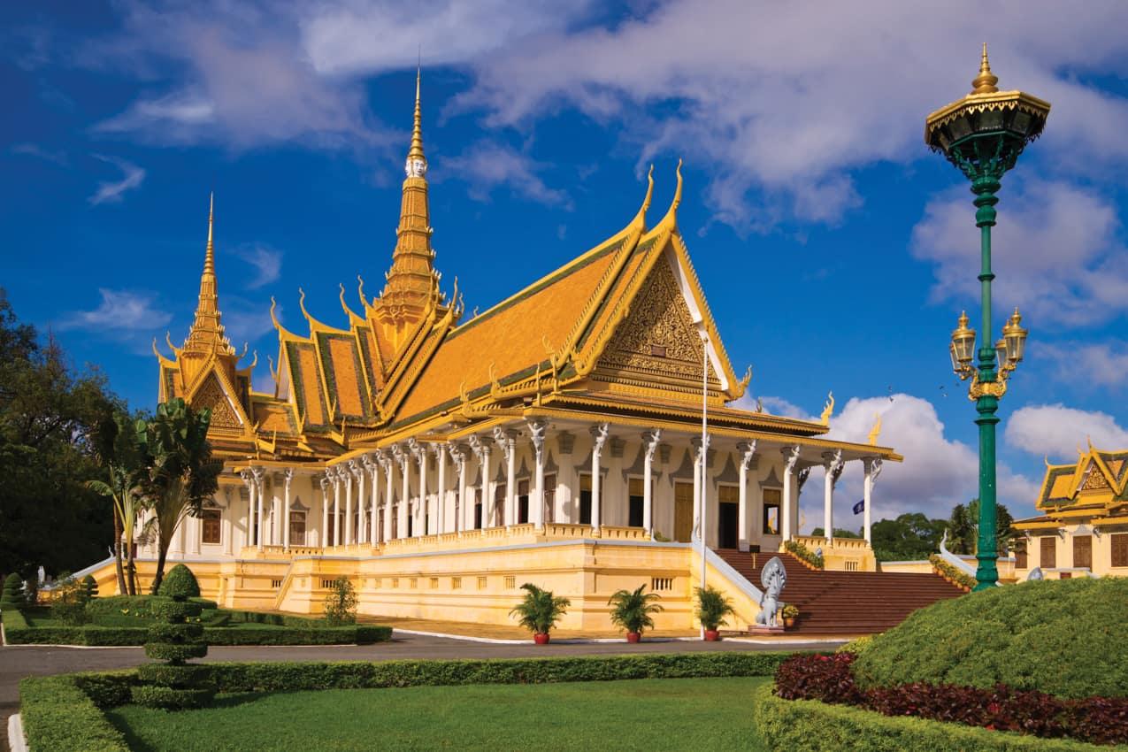 Pacote Camboja Palácio Real Phnom Penh