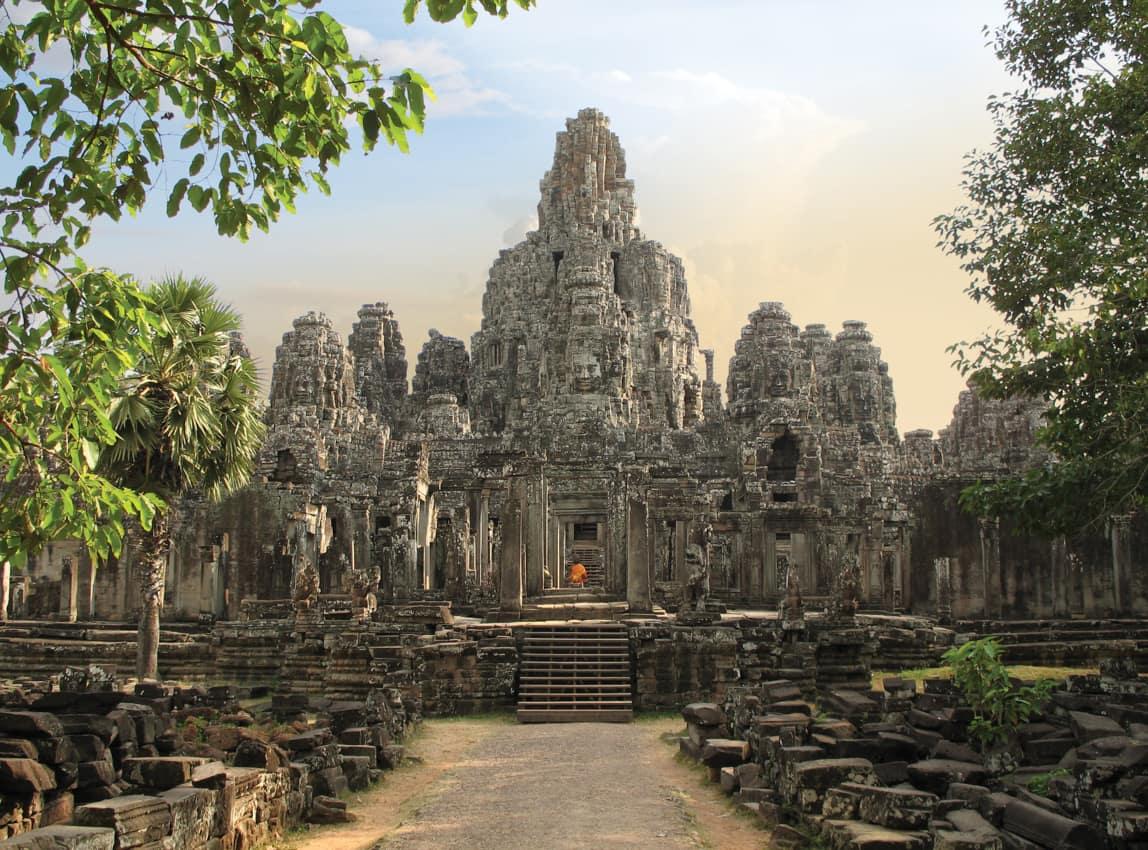 Templo Bayon Angkor Thom Camboja