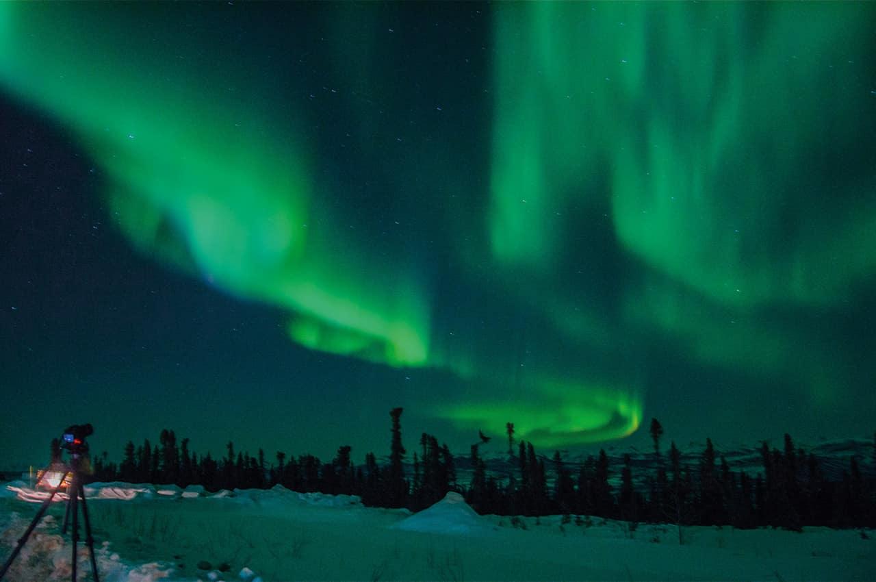 aurora boreal downson