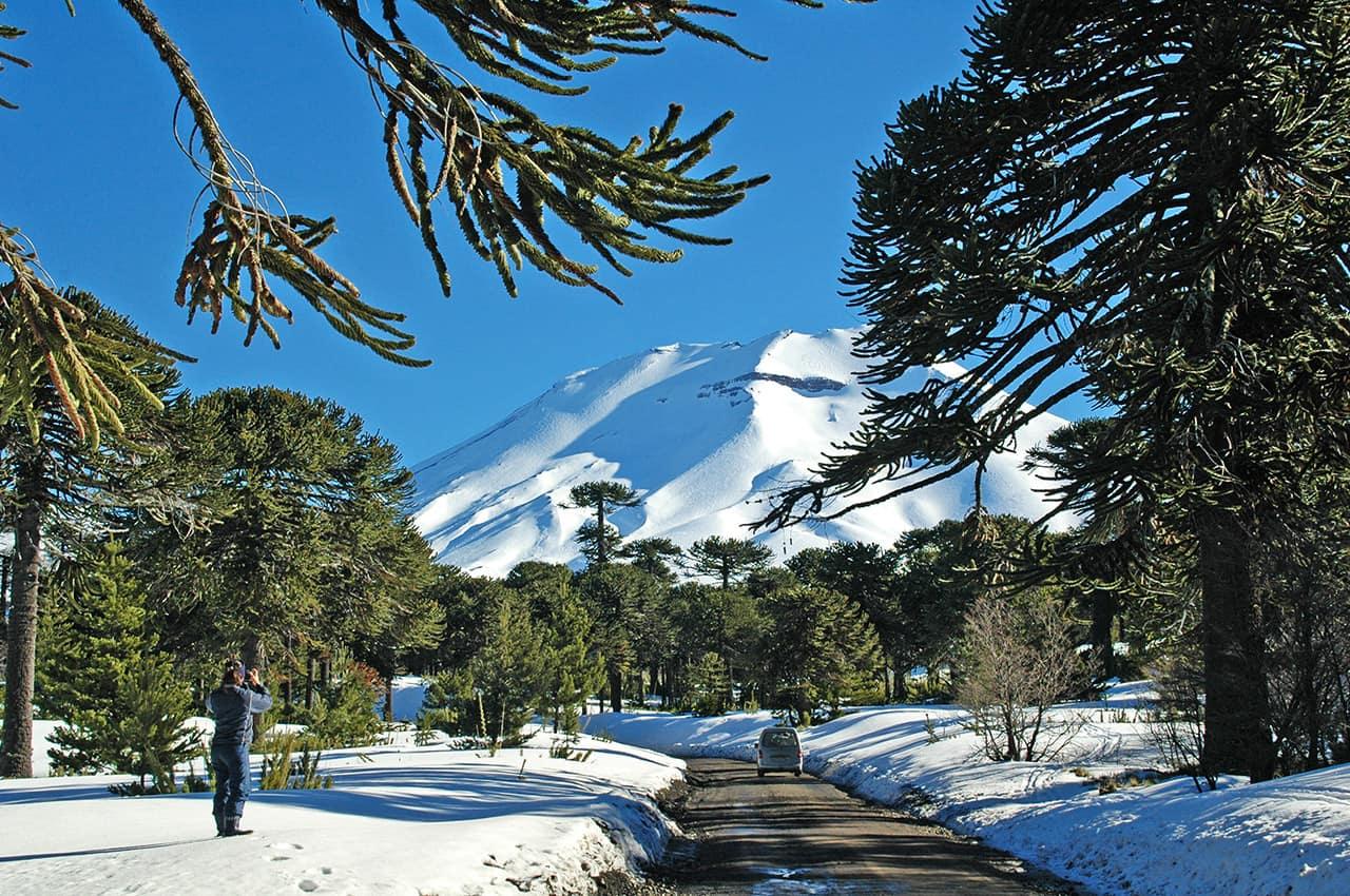 Atração turística, Vulcão, Puerto Varas, Pacote Chile