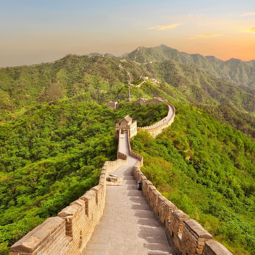Atrativo turístico China Grande Muralha