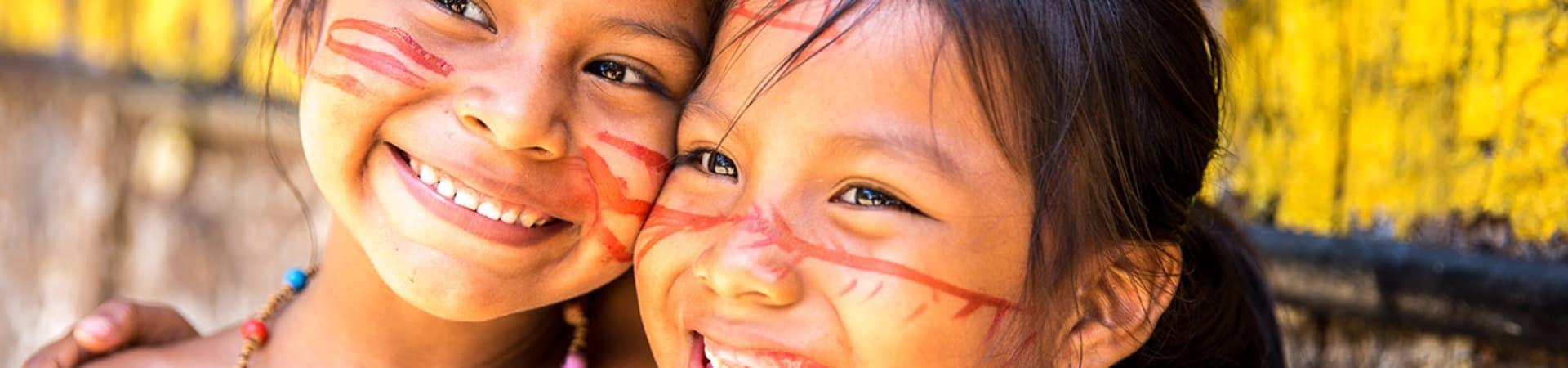 Amazonia criancas indias