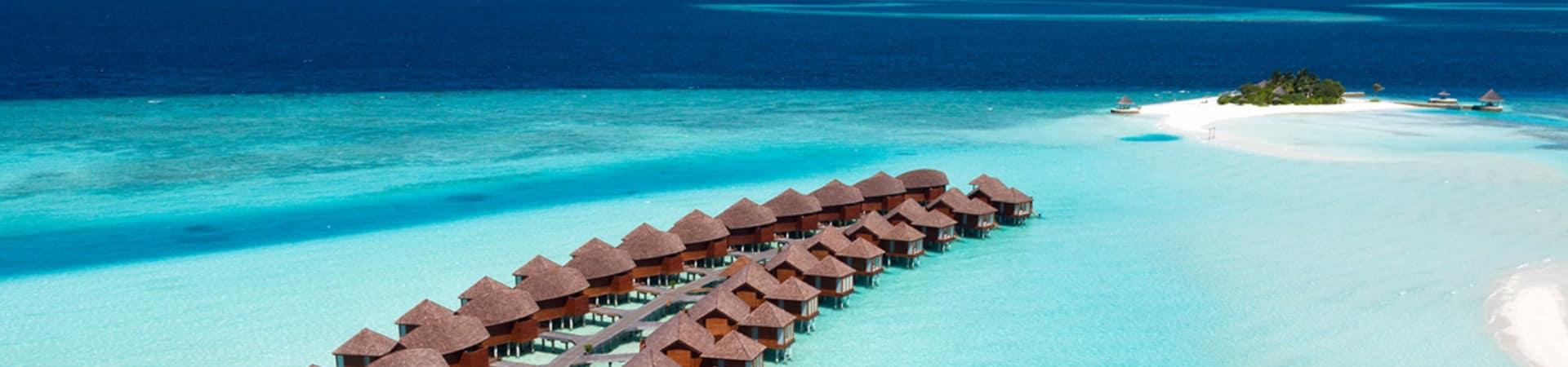 Bangalôs no Anantara Dhigu Maldives