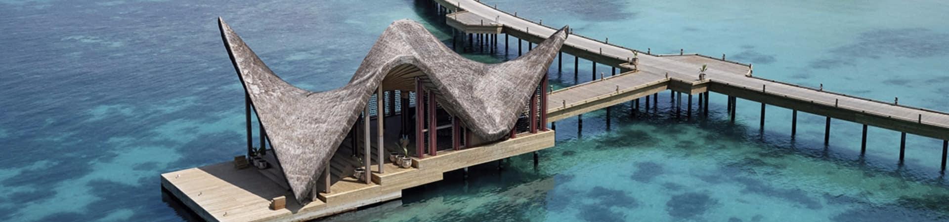 Joali maldivas pier aereo