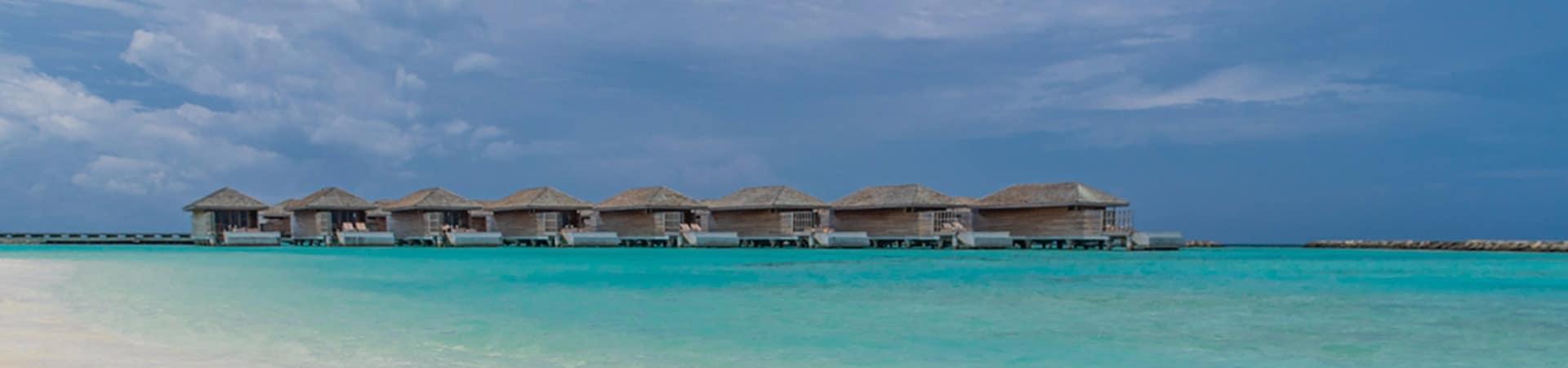 Kagi maldives villas sobre aguas