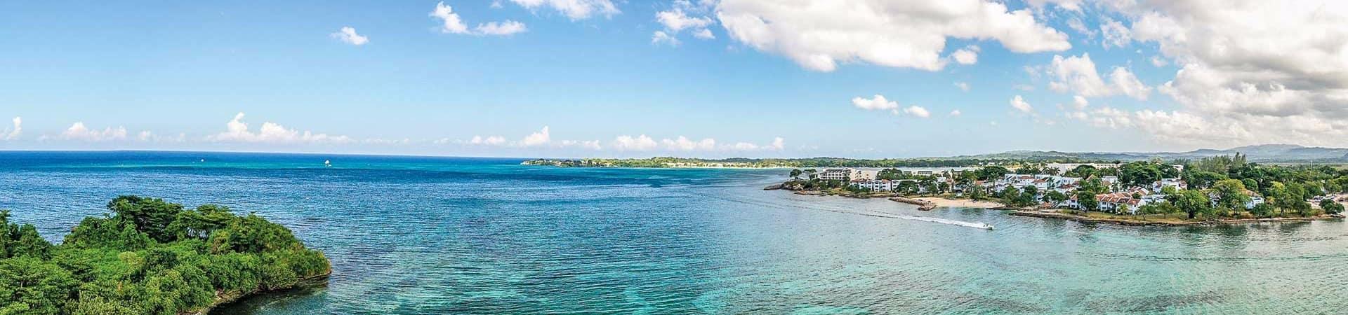 Panoramica negril jamaica