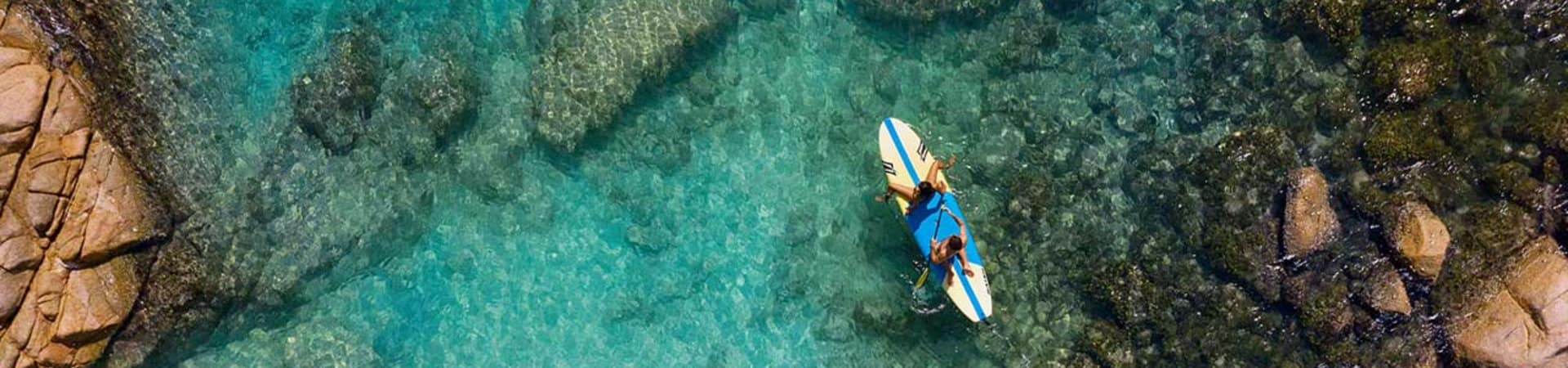 Raffles seychelles stand up paddle