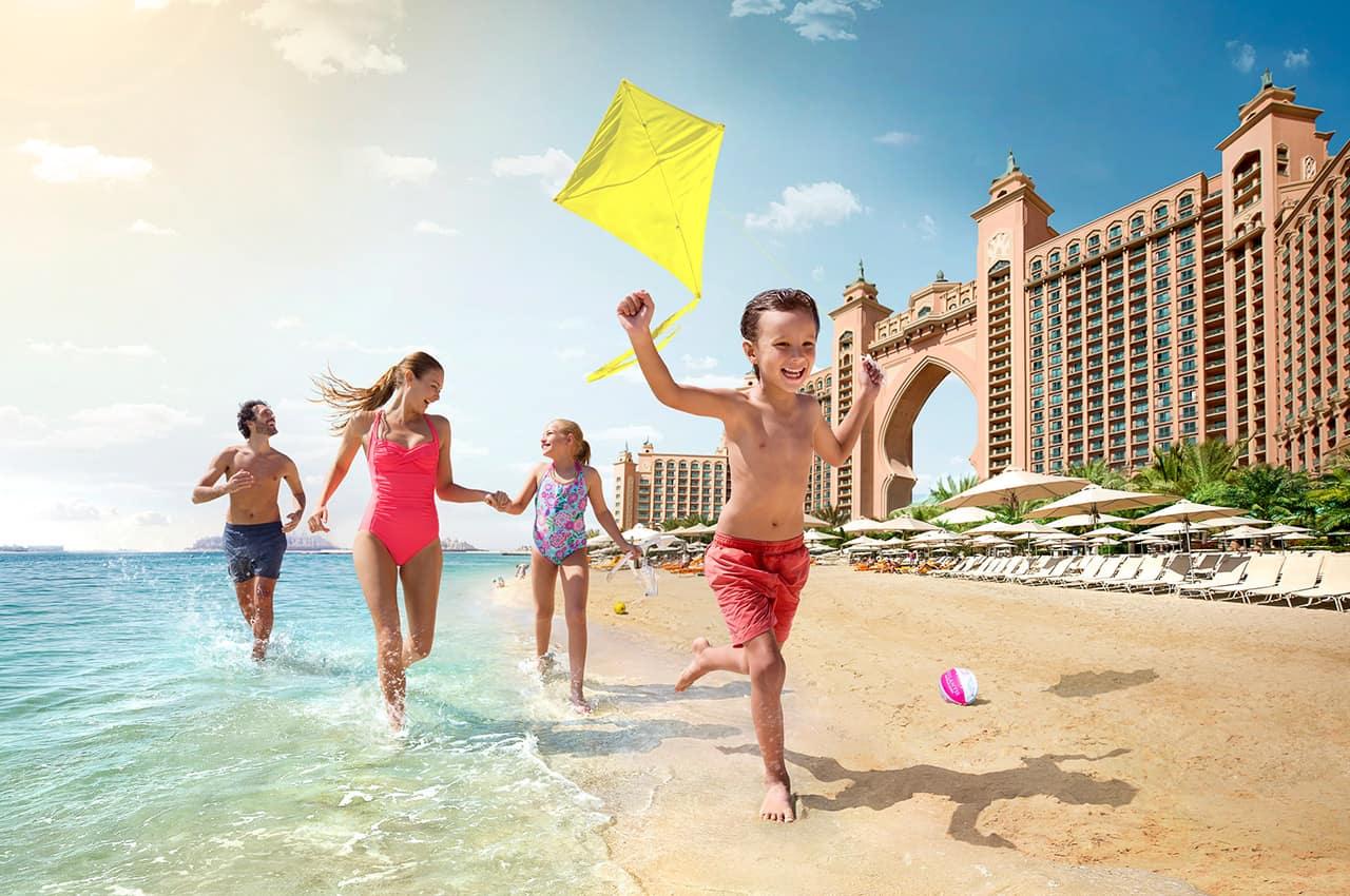 Atlantis the palm criancas praia