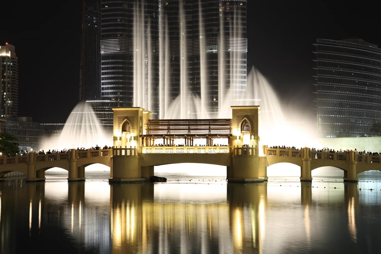 Fontes Burj Al Khalifa Dubai