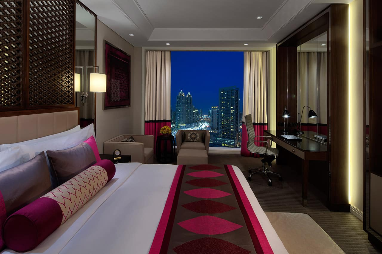 Luxury City View Room