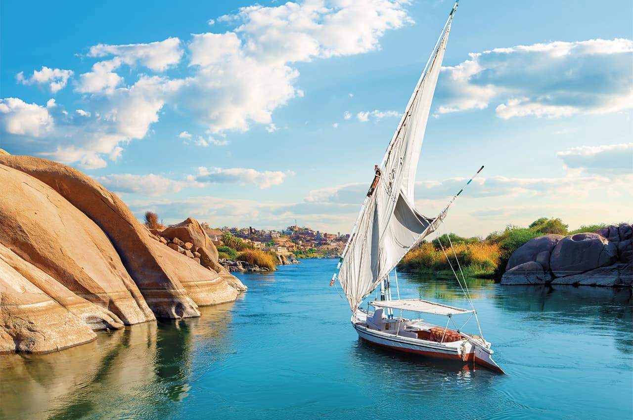 Egito rio nilo