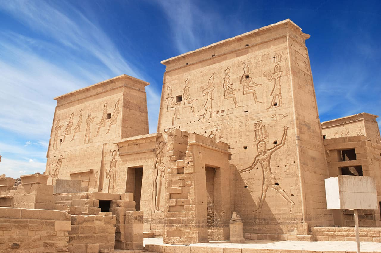 Templo Philae, Aswan.