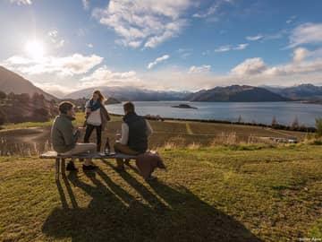 Amigos em Lake Wanaka