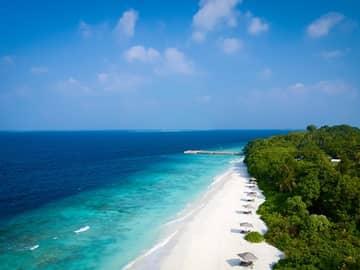 Amilla Maldives praia