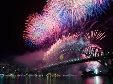 Ano Novo Sydney, Austrália