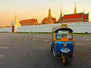 Atividades, Passeios, Tuk Tuk Bangkok, Tailândia
