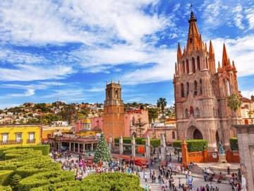 Atração turística Paróquia Archangel San Miguel Aallende, México