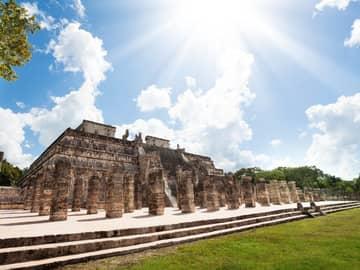 Atração turística Templos Chichen Itza, México